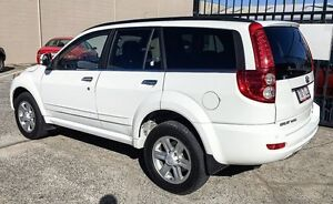 2013 Great Wall X240 K2 MY11 4x4 VERY LOW KLMS LEATHER White 5 Speed Manual Wagon Underwood Logan Area Preview