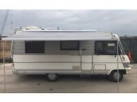 Hymer B594 5 Berth motorhome. Great quality coachbuild . Mechanically sound and extremely reliable.