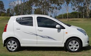2011 Suzuki Alto GF GL White 4 Speed Automatic Hatchback Bundaberg West Bundaberg City Preview