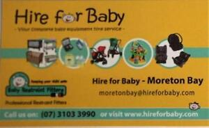 Hire for Baby & Baby Restraint Fitters Moreton Bay Bridgeman Downs Brisbane North East Preview