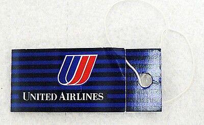 Unused United Airlines Baggage Ticket
