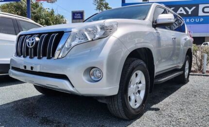 2014 Toyota Landcruiser Prado KDJ150R MY14 GXL Silver 5 Speed Sports Automatic Wagon Mackay Mackay City Preview