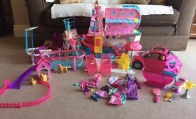 A Bundle of Barbie Items