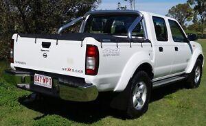 2011 Nissan Navara D22 MY2010 ST-R White 5 Speed Manual Utility Bundaberg West Bundaberg City Preview