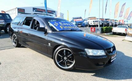 2005 Holden Commodore VZ Acclaim Black 4 Speed Automatic Wagon Woodridge Logan Area Preview
