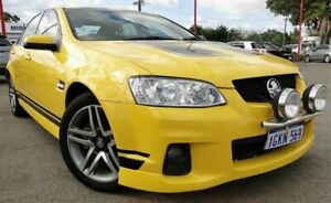 2010 Holden Commodore VE II SV6 Yellow 6 Speed Sports Automatic Sedan Bellevue Swan Area Preview