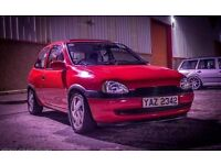 Vauxhall corsa 1.0 converted 2.0 8v