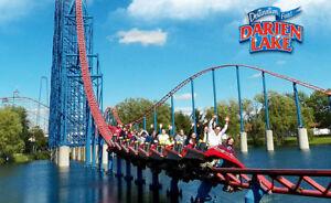 Darien Lake Theme Park Resort, NY tickets of 3