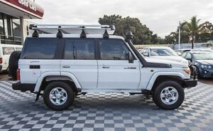 2012 Toyota Landcruiser VDJ76R MY13 Workmate White 5 Speed Manual Wagon Alfred Cove Melville Area Preview