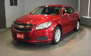 2013 Chevrolet Malibu LT ECO- BLUETOOTH+ LEATHER TRIMMED SEATS +