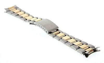 20MM 14K GOLD T/T OYSTER BAND FOR ROLEX 16233 16610 16013 16014  16613 DATEJUST