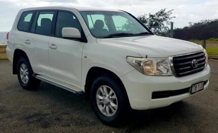 2010 Toyota Landcruiser UZJ200R GXL White Auto Seq Sportshift Wagon Mackay Mackay City Preview
