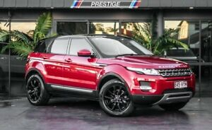 2015 Land Rover Range Rover Evoque LV MY15 TD4 Pure Red 9 Speed Automatic Wagon