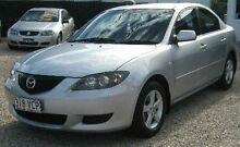 2005 Mazda 3 BK10F1 Maxx Sport Silver 4 Speed Sports Automatic Sedan Bungalow Cairns City Preview