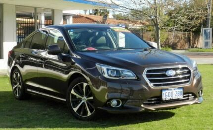 2017 Subaru Liberty B6 MY17 3.6R CVT AWD Brown 6 Speed Constant Variable Sedan Victoria Park Victoria Park Area Preview