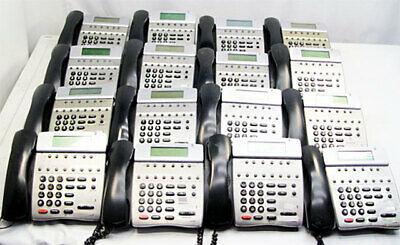 Lot Of 16 Nec Dtr-8d-2bk Tel Office Business Telephone Phones