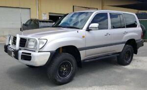 1998 Toyota Landcruiser FZJ105R GXL (4x4) 4 Speed Automatic 4x4 Wagon
