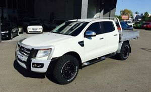 2013 Ford Ranger PX XLT 3.2 (4x4) White 6 Speed Automatic Dual Cab Utility Beckenham Gosnells Area Preview