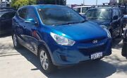 2010 Hyundai ix35 LM Active (FWD) Blue 6 Speed Automatic Wagon Cannington Canning Area Preview