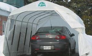 CAR (TEMPO) SHELTERS - CAR PORTS - WITNER STORAGE