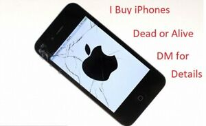 Money for Broken or Unwanted Apple iPhones