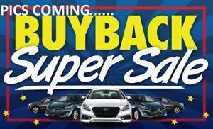 2018 HYUNDAI SANTA FE SE Sunroof Leather Backup Camera Buyback S