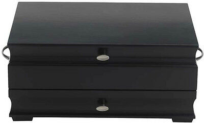 Manhattan Black Flatware/Silverware Chest by Reed and ...