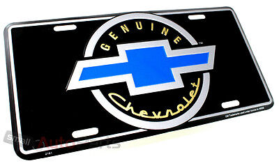 NEW!!! GENUINE CHEVROLET BOWTIE LICENSE PLATE ALUMINUM METAL AUTO/CAR/TRUCK - Aluminum Auto License Plate