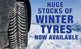 Winter tyres in stock brand new TEXT phone OR EMAIL SIZES free fitting