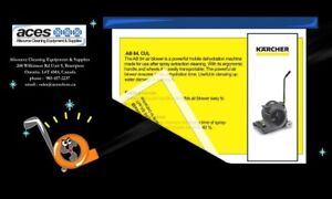 Karcher AB84 Industrial floor blower and carpet dryer