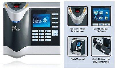 L-1 Identity Bioscrypt 4gstsh V-station-4g Biometric Fingerprint Reader Sealed