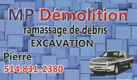 Ramassage de débris, got junks 514-831-2380