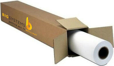 Wetjet Gloss Adhesive Vinyl Roll 5 Mil 24 X 100