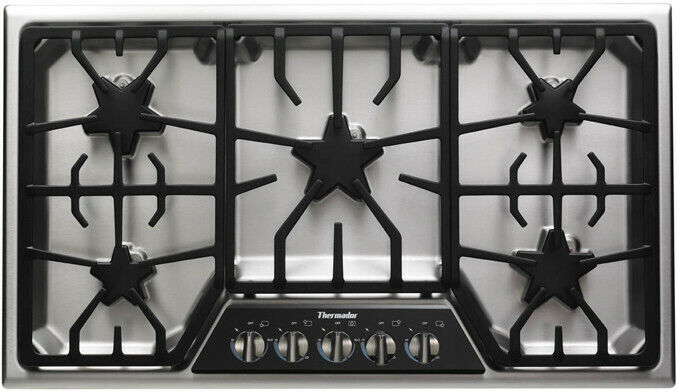 "Thermador SGSX365FS Masterpiece Series 36"" Gas Cooktop Stain"
