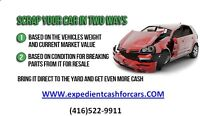Scrap & Unwanted Vehicles Buyers. We'll buy your vehicles today!