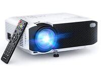 APEMAN Projector Portable Mini Projector 5500 Lumens [2021 Upgraded]