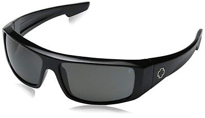 Spy Optic Logan Polarized Shiny Black/Grey, One Size 670939062135