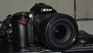 Nikon D90 and Nikon Nikkor 18-105 VR kit Camperdown Inner Sydney Preview