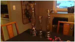 Candle Stick Holders - 16 in total