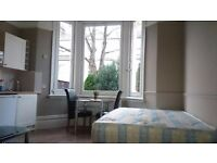 A Large Double Semi-Studio flat Situated within an Attractive Victorian House