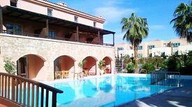 Grand Leoniki - Rethymnon Crete - Studios & One bedroom Apartments to rent
