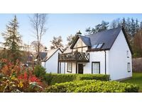 Luxury holiday cottage for sale - at the Kenmore Club (Perthshire) Week 37 on banks of Loch Tay