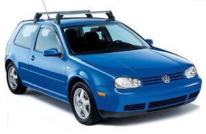 Vw Jetta Golf R32 Gti 2 Door Mk4 Volkswagen Roof Base Rack