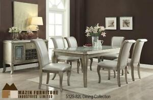 Antique Dining Set with 6 chairs (MA513)