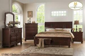 solid wood queen size bed (MA2501)