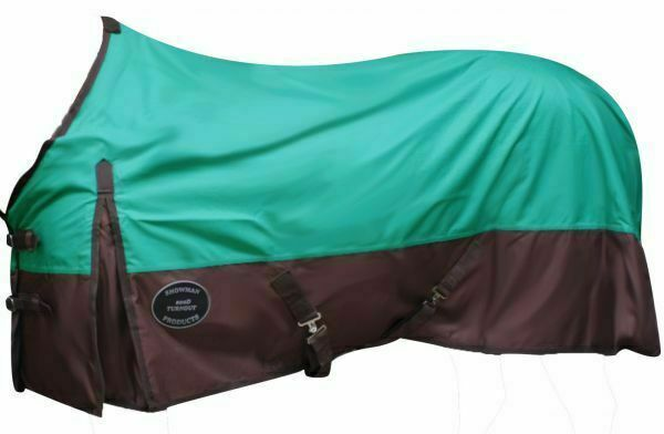 Showman Turnout HORSE SHEET 1200D Rip Stop Nylon WATERPROOF BREATHABLE