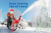 Reliable Snow Clearing Service 780-977-9434