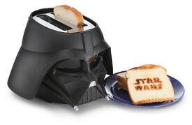 Star Wars Darth Vader Toaster BOXED NEW