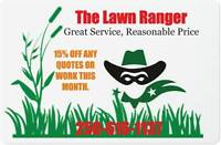 Lawn Care Needed? We Can Help.