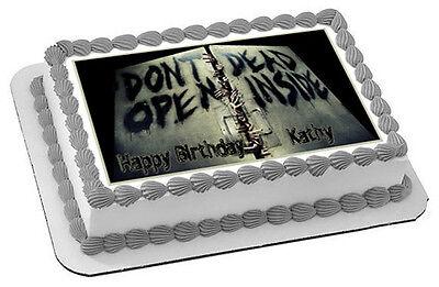 The Walking Dead (Nr2) - Edible Cake Topper OR Cupcake Topper, Decor - Walking Dead Cakes